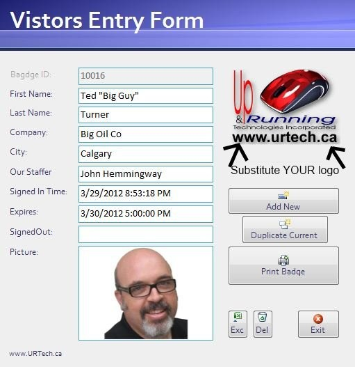 Free Visitor Management Software With Photo Id Up