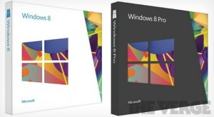 Windows 8 Retail box