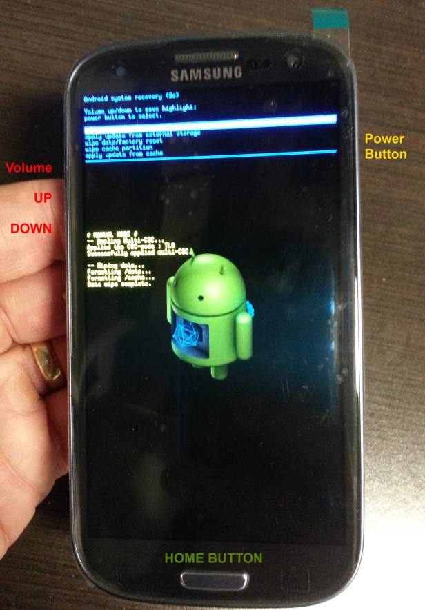 SOLVED: How to Factory Reset a Samsung Galaxy S3