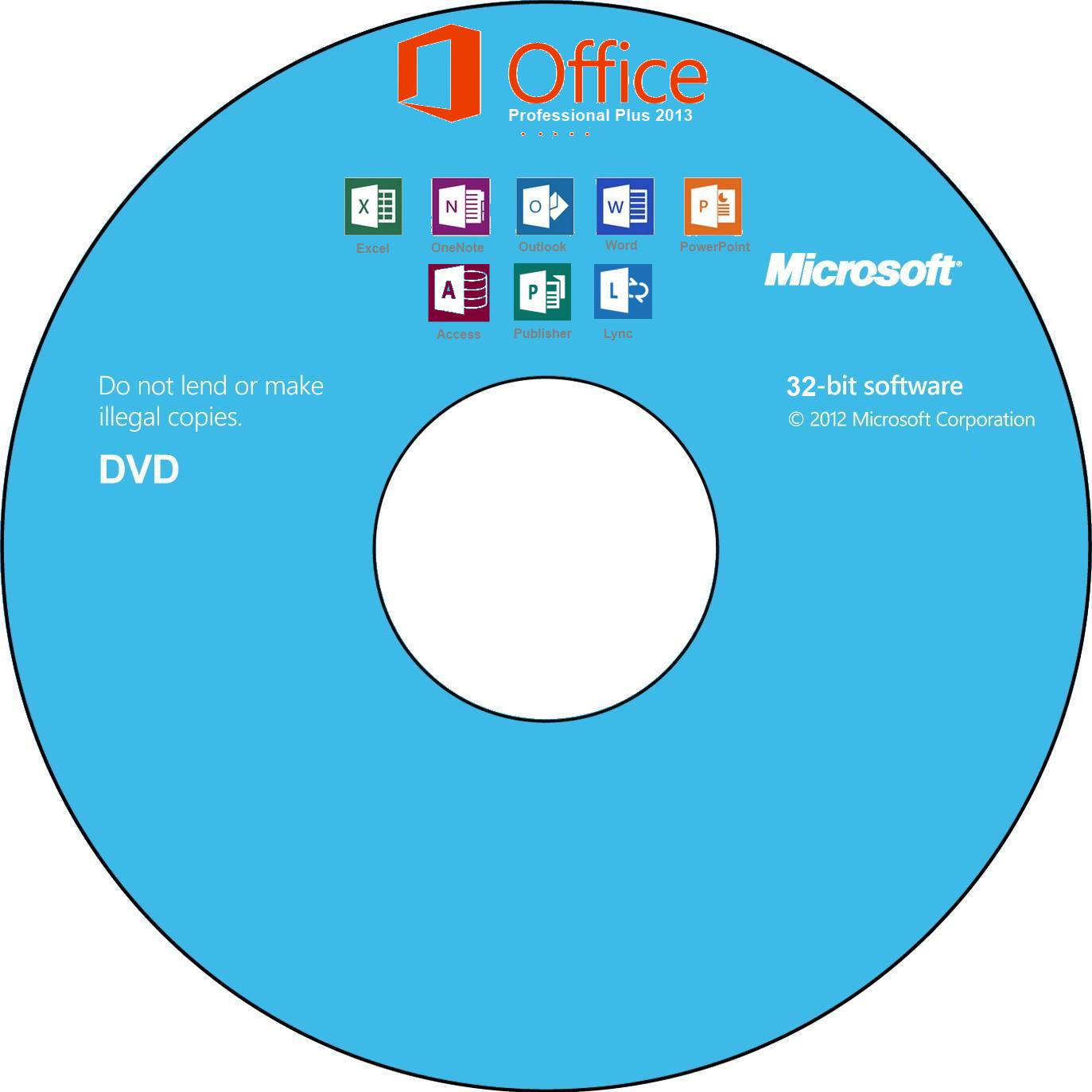 SOLVED: Office 2013 Icons, Images, CD / DVD Disk