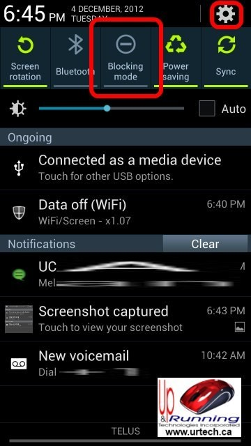 : Where is DRIVING MODE on Samsung Galaxy S3 Android 4.1 Jelly Bean