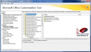 Solved how to customize office 2013 corporate installs up running technologies calgary - Office customization tool ...