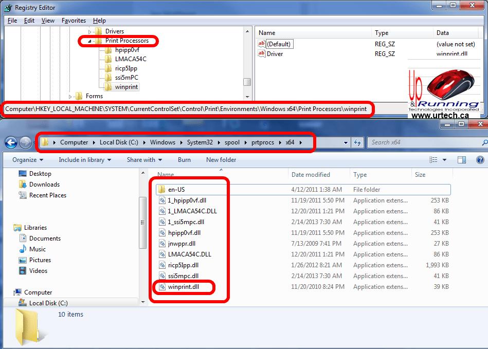 microsoft print to pdf windows 7 missing