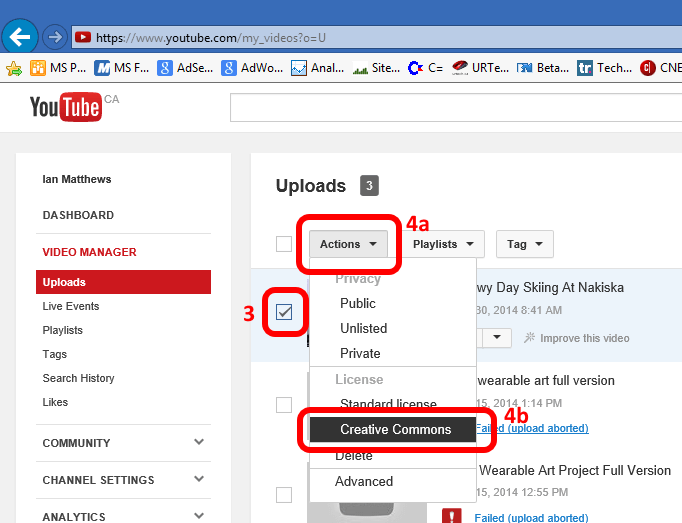 how to get youtube video url