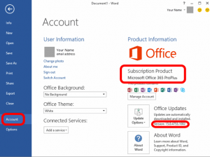 office365-office-2016-version-number-control-updates