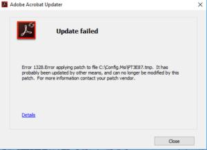 Adobe-Error-1328-Error-applying-patch-to-file-c-config-msi