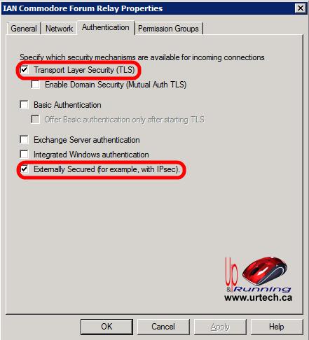 windowas server 2012 how to allow now authentication