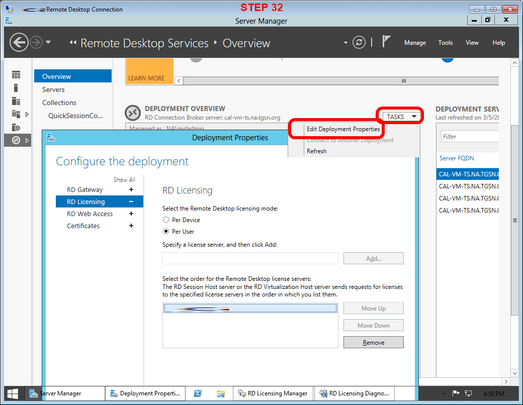 Rds Configure Rd Licensing Mode