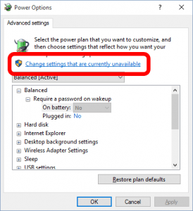 Advanced-Power-Settings-Greyed-Out-Require-A-Password-On-Wakeup