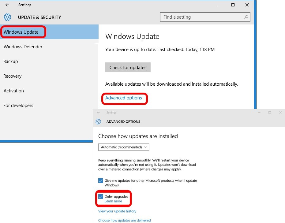 win 10 for business