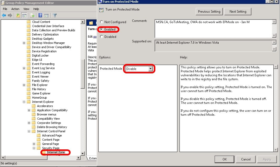 Driver microsoft internet explorer