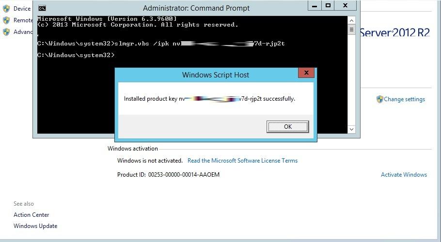 Command Line To Activate Windows Slmgr Slui