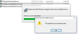 SOLVED: THE SPECIFIED ACCOUNT ALREADY EXISTS Error with MSI