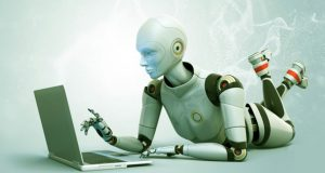what-is-machine-learning-robot-laptop