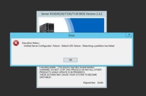 Solved Dell Bios Update Unified Server Configurator