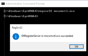 dllregisterserver-in0mscomctl.ocx-succeeded