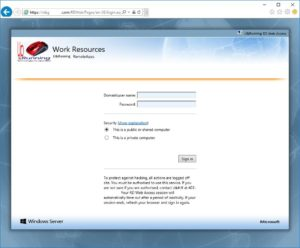 SOLVED: How To Customize Your RDS RDWeb Page – Up & Running