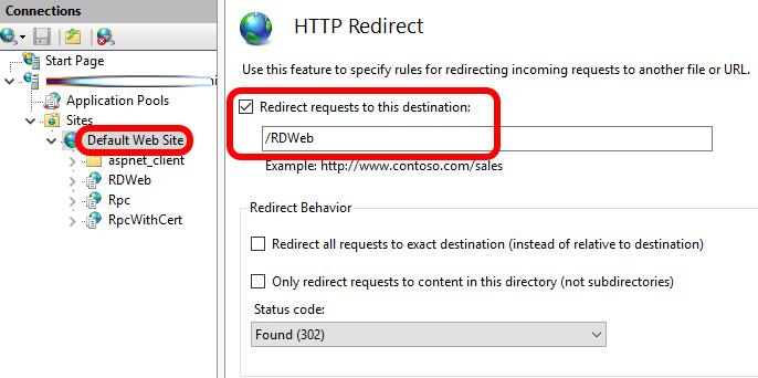 SOLVED: How To Remove /RDWeb From The RDS Login Page URL