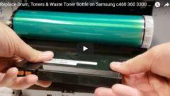 samsung-c460-drum-toner-replacement