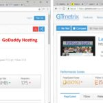 godaddy-vs-inmotion-GTMetrix