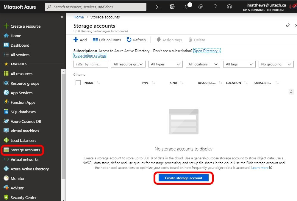 Solved How To Setup Azure Storage For Backups Like Veeam