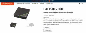Calisto 7200
