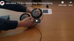 Jabra Speak 710 Review - Twinning Pairing