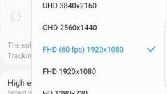 Samsung S9 S10 Video Recording Rates