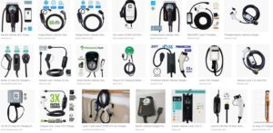 Plug In Electric Car EV Chargers
