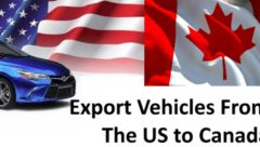 export vehicles from the us to canada