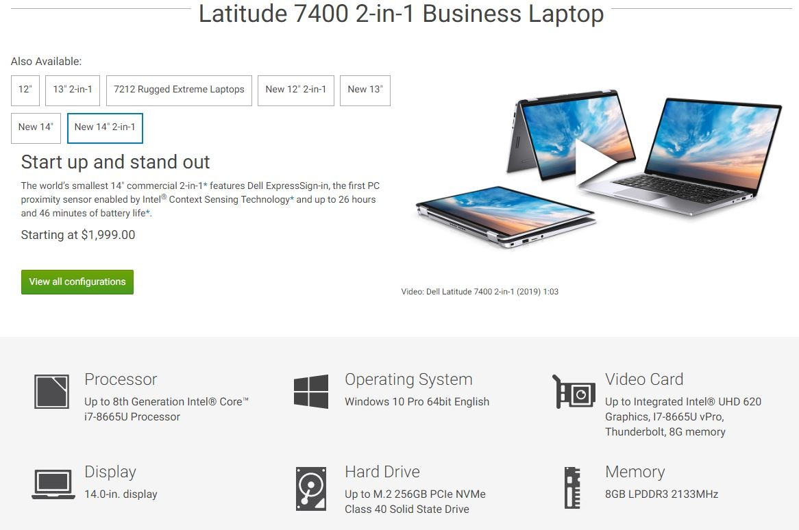 SOLVED: Dell Latitude 7400 Will Not PXE Boot – Up & Running